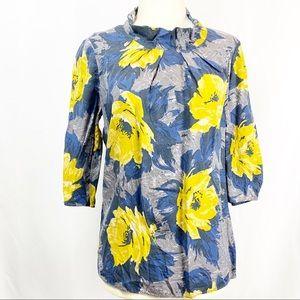 Boden Bella  Silk Blend Career Top Blouse Shirt
